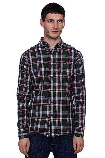 Рубашка в клетку Zoo York Ludlow Olive<br><br>Цвет: красный,зеленый<br>Тип: Рубашка в клетку<br>Возраст: Взрослый<br>Пол: Мужской