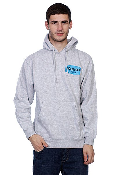 Кенгуру Independent Re-Label Pullover Grey Heather<br><br>Цвет: серый<br>Тип: Толстовка кенгуру<br>Возраст: Взрослый<br>Пол: Мужской