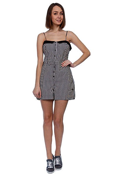 Платье женское Fred Perry Amy Gingham Playsuit Black
