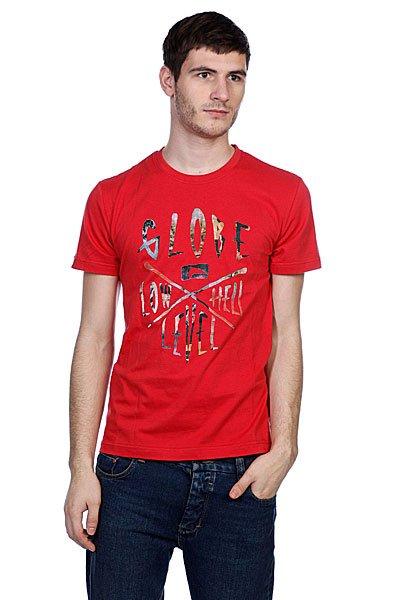 Футболка Globe Llh Tee Red<br><br>Цвет: красный<br>Тип: Футболка<br>Возраст: Взрослый<br>Пол: Мужской