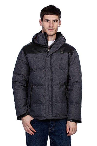 Куртка пуховик Globe Barnsley Jacket Charcoal MarleGlobe Barnsley Jacket Charcoal – выбор по-настоящему стильных молодых людей.Черно-серая куртка с высокой степенью утепления будет отлично смотреться с любой деталью вашего гардероба, поскольку выполнена в классических тонах.    Благодаря теплому наполнителю куртка согреет вас даже в морозы выше 20 градусов.Globe Barnsley Jacket Charcoal – для тех, кто не привык прятаться дома в холодное время и любит проявлять чувство стиля даже зимой.Модель имеет капюшон, по бокам куртки карманы на молнии контрастной отделки.<br><br>Цвет: серый<br>Тип: Пуховик<br>Возраст: Взрослый<br>Пол: Мужской