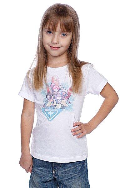 Футболка детская Roxy Idealistic White Proskater.ru 439.000