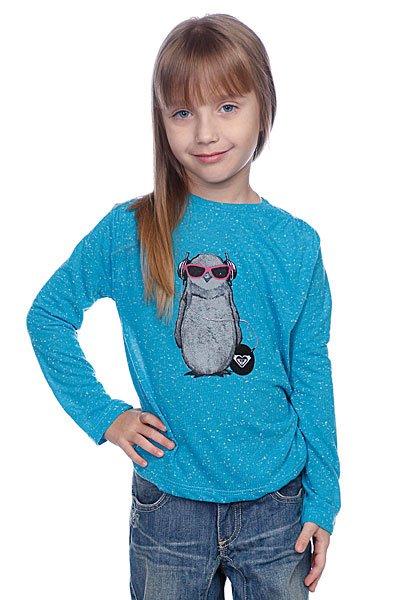 Лонгслив детский Roxy Smile Turquoise Proskater.ru 1080.000