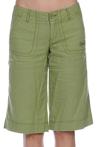 Шорты классические женские Animal Cyndi Short Turtle Green шорты animal soft shell bike short mid weight true black