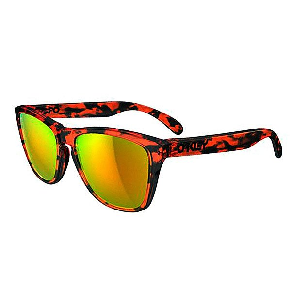 Очки Oakley Frogskins Acid Tortoise Orange W/Fire