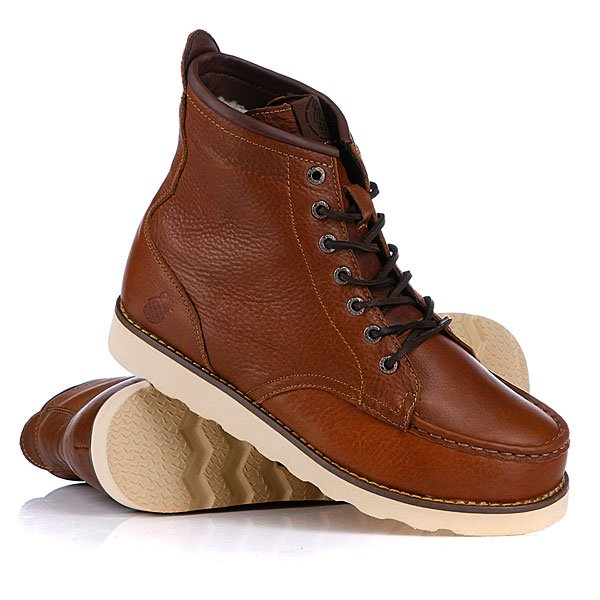 Ботинки зимние Grenade Fur Urban Trekker Leather Boot Brown