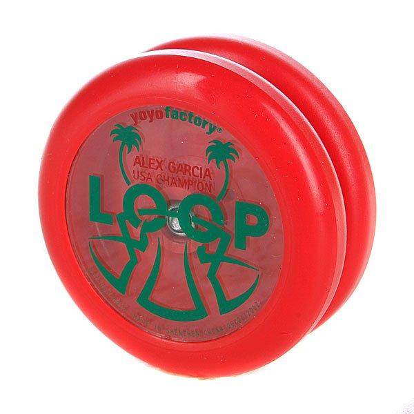 Йо-Йо Yo-Yo Factory Loop808 Red Proskater.ru 660.000