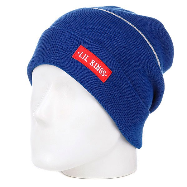Шапка Lil Kings Old Beanie Blue