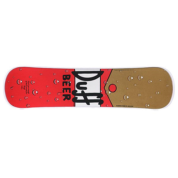Сноускейт Santa Cruz The Simpsons Duff Proskater.ru 4260.000