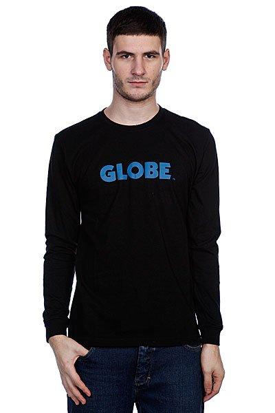Лонгслив Globe Branded BlackМужская футболка из хлопка Джерси с ярким принтом от Globe.Технические характеристики: Хлопок Джерси.Длинные рукава.Классический крой.Воротник с круглым вырезом.Яркий принт с логотипом Globe.<br><br>Цвет: черный<br>Тип: Лонгслив<br>Возраст: Взрослый<br>Пол: Мужской