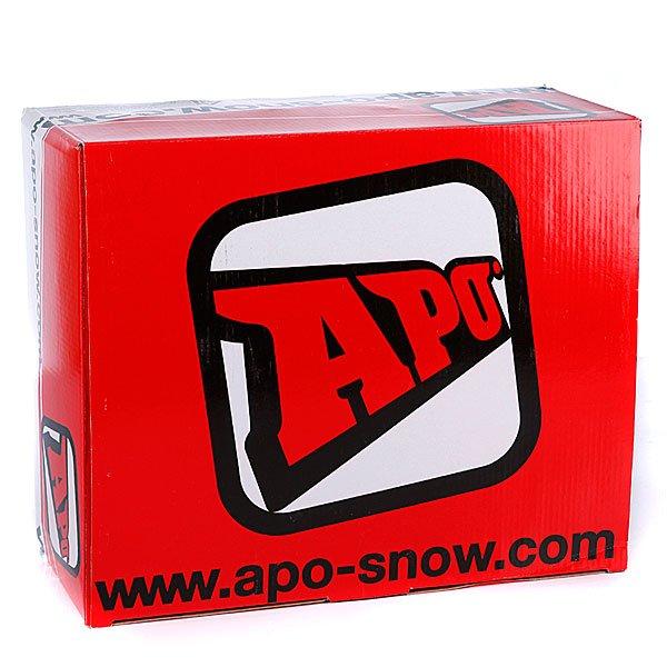 Крепления для сноуборда Apo Team White