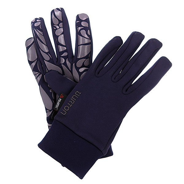 Перчатки сноубордические женские Burton Wb Pwrstretch Lnr HexЛегкие теплые перчатки. Отлично защищают от ветра и влагиФлисовое покрытие Powerstretch®Липкое покрытие ладоней Sticky Icky™Фасон - ergonomic fit (плотно сидят на руке)<br><br>Цвет: фиолетовый<br>Тип: Перчатки сноубордические<br>Возраст: Взрослый<br>Пол: Женский