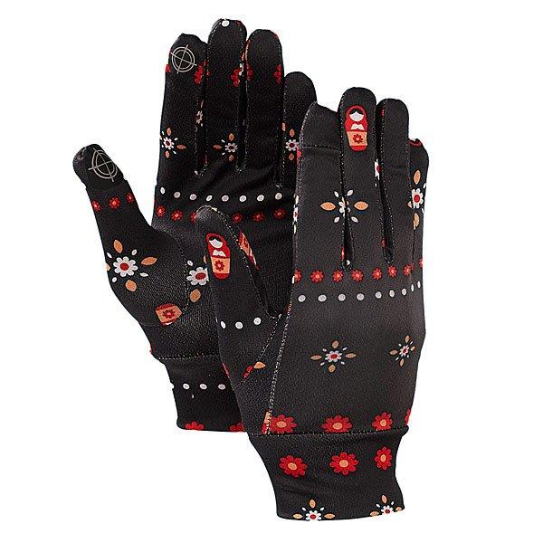 Перчатки сноубордические Burton Mb Touchscreen Liner Mother Russia<br><br>Тип: Перчатки сноубордические<br>Возраст: Взрослый<br>Пол: Мужской