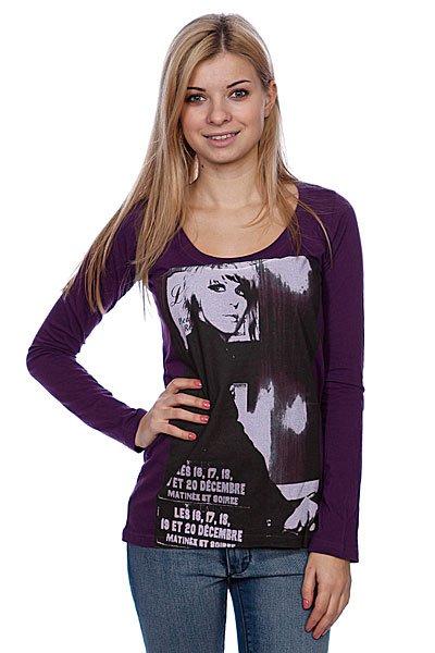 Лонгслив женский Volcom Wms Wigs Ls Deep Purple Proskater.ru 549.000