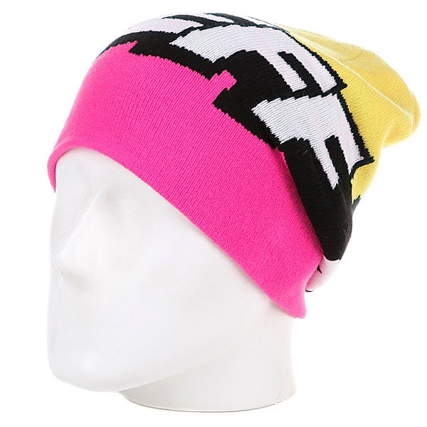 Шапка носок Neff Cartoon Ppink/Yellow<br><br>Цвет: розовый,желтый<br>Тип: Шапка носок<br>Возраст: Взрослый<br>Пол: Мужской