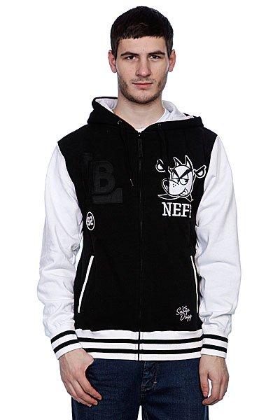 Толстовка утепленная Neff Vizzle Black/White<br><br>Цвет: белый,черный<br>Тип: Толстовка утепленная<br>Возраст: Взрослый<br>Пол: Мужской