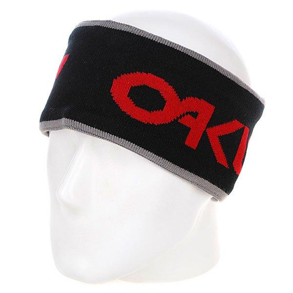 Повязка Oakley Retro Tube Black<br><br>Цвет: черный<br>Тип: Повязка<br>Возраст: Взрослый<br>Пол: Мужской