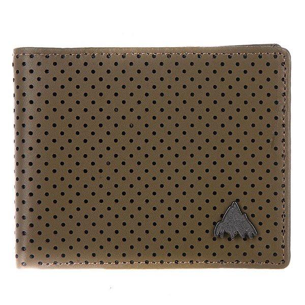 Кошелек Burton Blkburn Lthr Wallet Sentinal<br><br>Цвет: коричневый<br>Тип: Кошелек<br>Возраст: Взрослый<br>Пол: Мужской