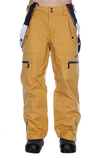 Штаны сноубордические Oakley Originate Pants Gold Ray