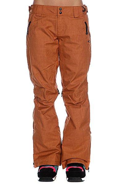 Штаны сноубордические женские Oakley Mfr Pants Cognac