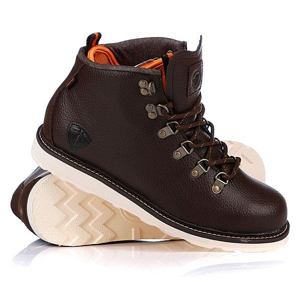 Ботинки зимние DVS Yodeler Brown Leather Proskater.ru 5700.000