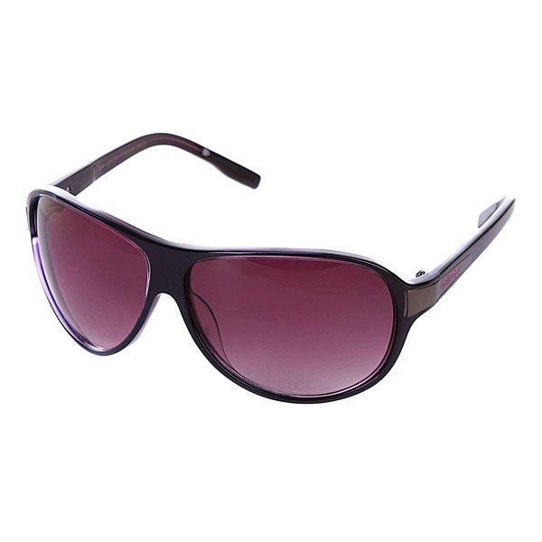 Очки женские Animal Eva Black/PurpleСовременные  очки от бренда Animal это воплощение экстрима, спортивного азарта и стиля.Технические характеристики: 100% защита от УФ - лучей.Ударопрочные линзы из поликарбоната.Легкая и прочная оправа с логотипом.<br><br>Цвет: фиолетовый<br>Тип: Очки<br>Возраст: Взрослый<br>Пол: Женский