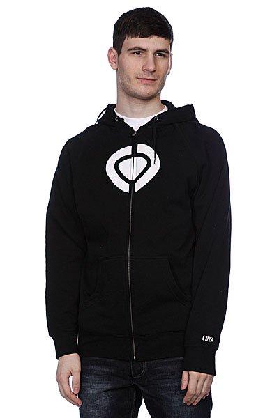 Толстовка Circa Icon Zip Fleece Black<br><br>Цвет: черный<br>Тип: Толстовка классическая<br>Возраст: Взрослый<br>Пол: Мужской