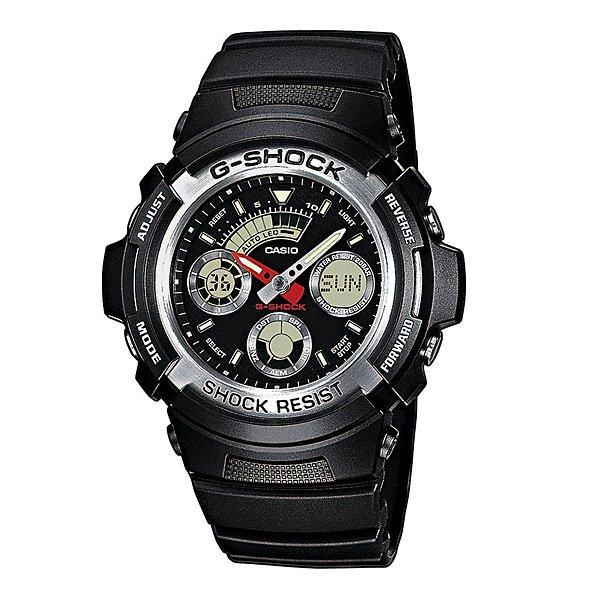 Часы Casio G-Shock Aw-590-1AАвтоматическая светодиодная подсветка. Ударопрочная конструкция защищает от ударов и вибрации.Специальное покрытие Необрит обеспечивает длительное послесвечение в темноте даже после кратковременного нахождения на свету.Обеспечивает отображение текущего времени в некоторых городах и определенных регионах мира.5 ежедневных сигналов. Функция повтора сигнала - через несколько минут после остановки сигнала он повторяется.Таймер. Секундомер - точность 1/100 секунды, максимальное измеряемое время 1 час.Полностью автоматический календарь, учитываются месяцы разной продолжительности и високосные годы. Время может отображаться как в 12-часовом, так и в 24-часовом формате.Жесткое минеральное стекло, устойчивое к царапанию.Срок службы батареи - 3 года.Ремешок из полимерного материала.Водонепроницаемость при давлении 20 атмосфер. (WR 200)Размер корпуса 52мм x 46,4мм x 14,9мм.Вес 50 г.<br><br>Тип: Кварцевые часы<br>Возраст: Взрослый<br>Пол: Мужской