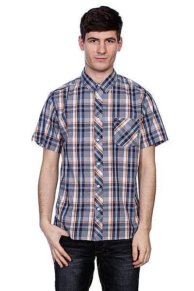 Рубашка в клетку Quiksilver Pango Indigo Proskater.ru 1740.000