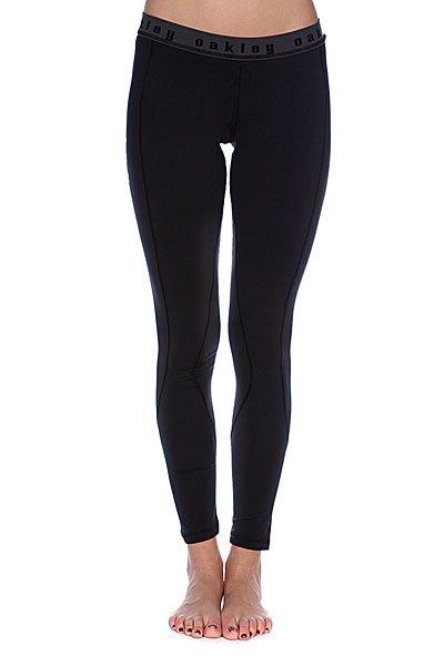 Термобелье женское (низ) Oakley Moving Baselayer Pants Jet Black<br><br>Цвет: фиолетовый,черный<br>Тип: Термобелье (низ)<br>Возраст: Взрослый<br>Пол: Женский