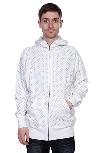 Толстовка Globe Skulka Dot Sweat White