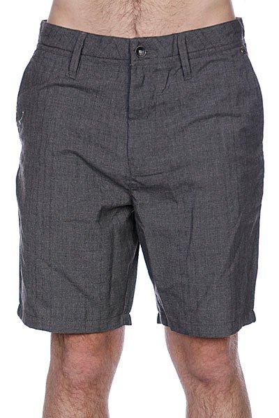 Классические мужские шорты Globe Nash Walkshort Charcoal<br><br>Цвет: серый<br>Тип: Шорты классические<br>Возраст: Взрослый<br>Пол: Мужской