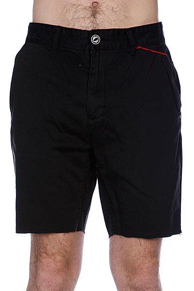 Классические мужские шорты Globe Bruce Walkshort Black<br><br>Цвет: черный<br>Тип: Шорты классические<br>Возраст: Взрослый<br>Пол: Мужской