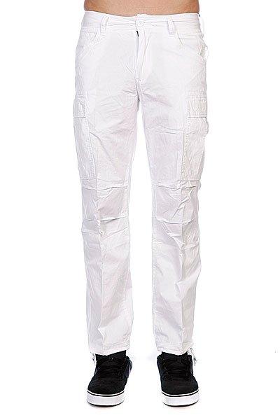 Штаны прямые Urban Classics Combat Oldy Cargo Pants White<br><br>Цвет: белый<br>Тип: Штаны прямые<br>Возраст: Взрослый<br>Пол: Мужской