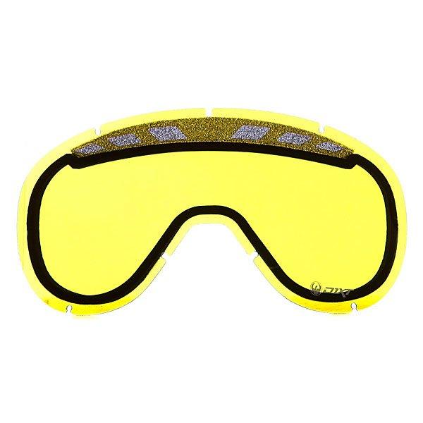 Линза для маски Dragon D1.XT Replace Lens YellowЛинзы  Dragon D1.XT подходят для катания в любых погодных условиях. Усиленная система вентиляции, а также технология Super Anti-Fog, обеспечивают безупречный комфорт и четкость в любых погодных условиях.Технические характеристики: Подходит для любых погодных условий.Линзы на 100% блокируют вредное ультрафиолетовое излучение.Устойчивое к царапинам покрытие.Система вентиляции, препятствующая запотеванию.Технология антизапотевания Super Anti-Fog.Линза соответствует оптическому стандарту ANSI Z87.1.Материал - прочный поликарбонат.Светопропускная способность - 79%.Для моделей масок D1.XT.<br><br>Тип: Линза для маски