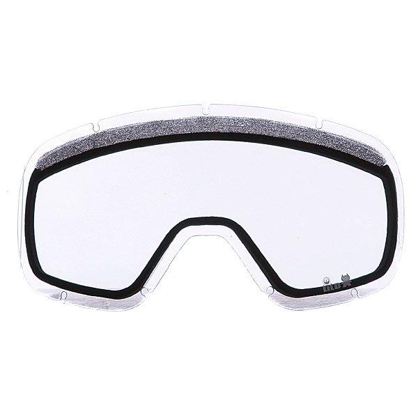 Линза для маски Dragon Lil D Replace Lens ClearЛинзы для подрастающих любителей активного отдыха. Dragon Lil D изготовлены из пластичного материала Лексана, который при ударе не образует острых осколков, сохраняя глаза в безопасности при любых условиях, а уникальная разработка от Dragon - технология антизапотевания Super Anti-Fog позволяет линзам всегда оставаться чистыми.Технические характеристики: Подходит для любых погодных условий.Прочные и одновременно гибкие линзы.Линзы на 100% блокируют вредное ультрафиолетовое излучение.Устойчивое к царапинам покрытие.Система вентиляции, препятствующая запотеванию.Технология антизапотевания Super Anti-Fog.Линза соответствует оптическому стандарту ANSI Z87.1.Материал - прочный поликарбонат Лексан.Светопропускная способность - 81%.Для моделей масок Lil D.<br><br>Тип: Линза для маски
