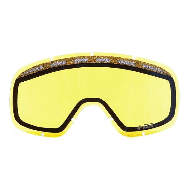 Линза для маски Dragon D2 Replace Lens Yellow Blue IonizedКлассические линзы  Dragon D2 подходят для детей, женщин, а также для тех, кто предпочитает более компактные маски. Линзы изготовлены из пластичного материала Лексана, который при ударе не образует острых осколков, сохраняя Ваши глаза в безопасности при любых условиях.Технические характеристики: Подходит для любых погодных условий.Ионизированное покрытие.Прочные и одновременно гибкие линзы.Линзы на 100% блокируют вредное ультрафиолетовое излучение.Устойчивое к царапинам покрытие.Система вентиляции, препятствующая запотеванию.Технология антизапотевания Super Anti-Fog.Линза соответствует оптическому стандарту ANSI Z87.1.Материал - прочный поликарбонат Лексан.Светопропускная способность - 48% - 57%.Для моделей масок D2.<br><br>Тип: Линза для маски
