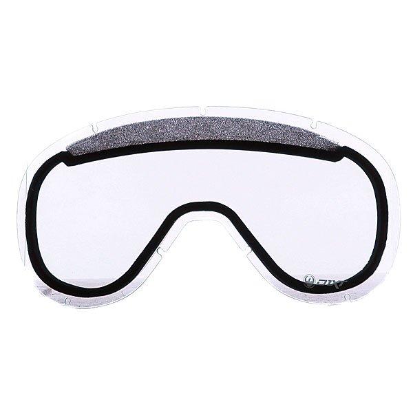 Линза для маски Dragon D1.XT Replace Lens ClearЛинзы  Dragon D1.XT подходят для катания в любых погодных условиях. Усиленная система вентиляции, а также технология Super Anti-Fog, обеспечивают безупречный комфорт и четкость в любых погодных условиях.Технические характеристики: Подходит для любых погодных условий.Линзы на 100% блокируют вредное ультрафиолетовое излучение.Устойчивое к царапинам покрытие.Система вентиляции, препятствующая запотеванию.Технология антизапотевания Super Anti-Fog.Линза соответствует оптическому стандарту ANSI Z87.1.Материал - прочный поликарбонат.Светопропускная способность - 81%.Для моделей масок D1.XT.<br><br>Тип: Линза для маски