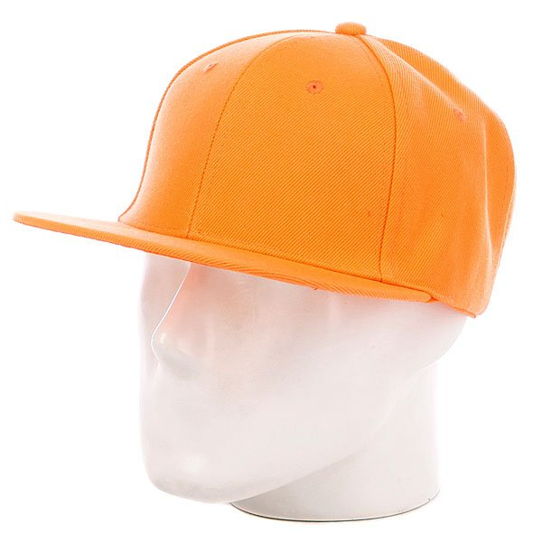 Бейсболка True Spin Acrylic Snapback Neon/Orange