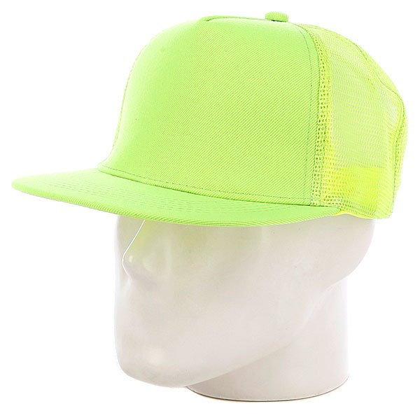 Бейсболка с сеткой Truespin Combo Trucker, White-navy-yellow, O/s