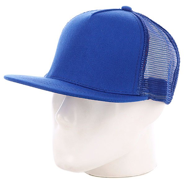 Бейсболка с сеткой True Spin 5 Panel Trucker Royal/Blue