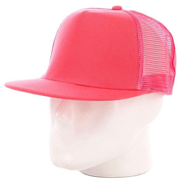 Бейсболка с сеткой True Spin 5 Panel Trucker Neon/Pink<br><br>Цвет: розовый<br>Тип: Бейсболка с сеткой<br>Возраст: Взрослый