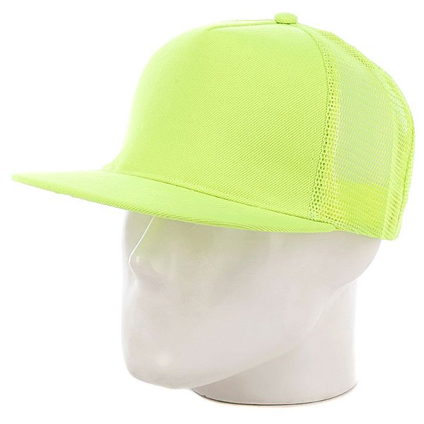 Бейсболка с сеткой True Spin 5 Panel Trucker Neon/Yellow