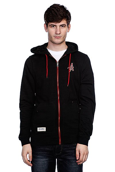 Толстовка Altamont Broyo Zip Hood Black толстовка stussy 4134943 world tour zip hood