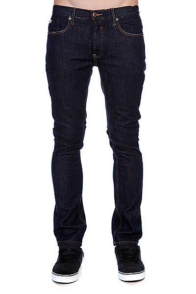 Джинсы узкие мужские зауженные Etnies Slim Fit Denim Pant Dark Rinse джинсы узкие мужские зауженные insight buzzcock slim black acid