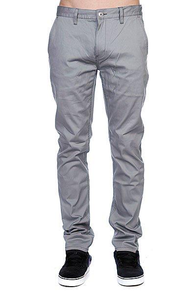 Штаны прямые Etnies Cash Out Chino Pant Grey штаны прямые huf z fulton chino pant khaki