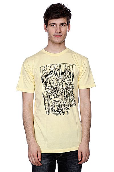 Футболка Altamont Forward Thinker Tee Light Yellow