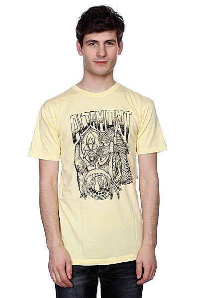Футболка Altamont Forward Thinker Tee Light Yellow altamont футболка altamont stacked basic tee oxblood