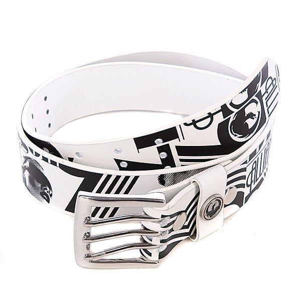 Ремень Dragon Future Fixx Belt White<br><br>Цвет: белый,черный<br>Тип: Ремень<br>Возраст: Взрослый<br>Пол: Мужской