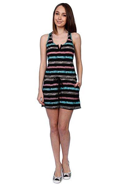 Комбинезон женский Stussy Paint Stripe Jumper Black